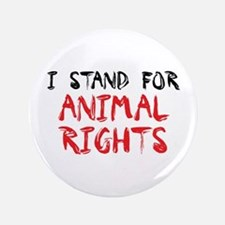 "Animal rights 3.5"" Button"