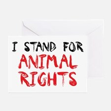 Animal rights Greeting Cards (Pk of 10)