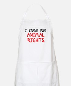 Animal rights BBQ Apron