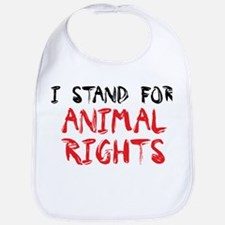 Animal rights Bib
