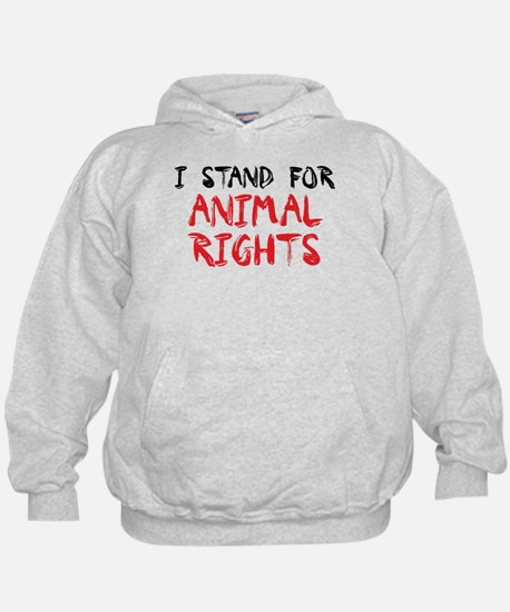 Animal rights Hoodie