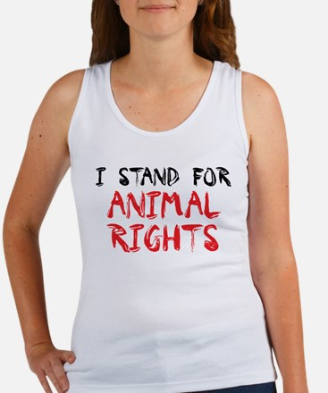 Animal rights Women's Tank Top