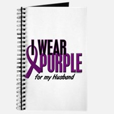 I Wear Purple For My Husband 10 Journal