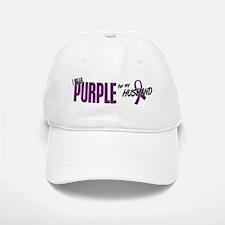 I Wear Purple For My Husband 10 Baseball Baseball Cap
