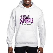 I Wear Purple For My Husband 10 Hoodie