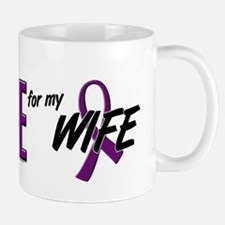 I Wear Purple For My Wife 10 Mug