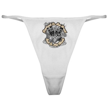 Panhead is my Heart - Fuel my Classic Thong