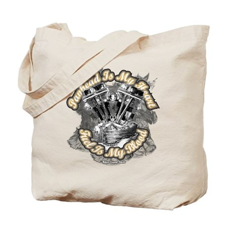 Panhead is my Heart - Fuel my Tote Bag