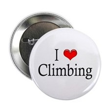 I Heart Climbing Button
