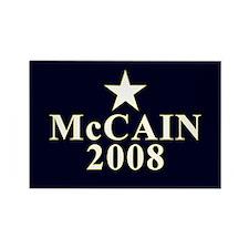McCain 2008 Star Rectangle Magnet