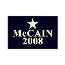 McCain 2008 Star Rectangle Magnet (10 pack)