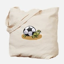 Cute Childrens soccer Tote Bag