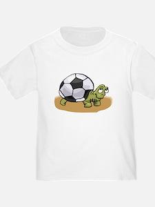 Cute Soccer baby T
