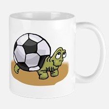 soccer turtle Mugs