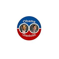 Obama-Granholm Campaign Pin