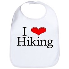 I Heart Hiking Bib