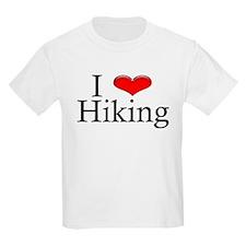 I Heart Hiking Kids T-Shirt