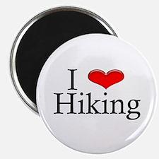 I Heart Hiking Magnet