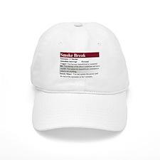 Smoke Break Baseball Cap