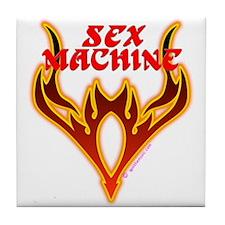 Sex Machine Tile Coaster