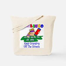 Support Bingo Funny Tote Bag