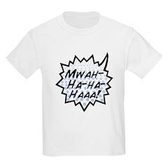 'Evil Laugh' Kids Light T-Shirt
