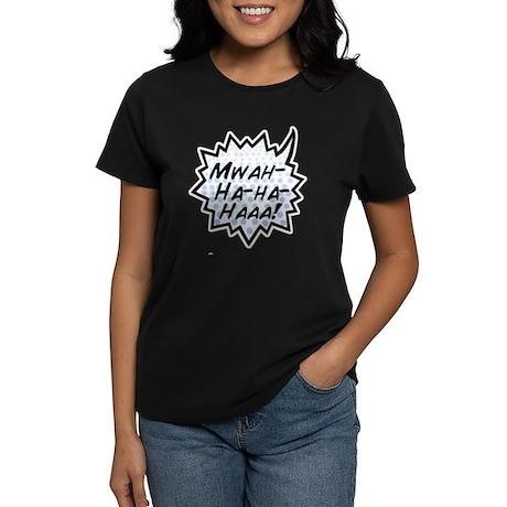 'Evil Laugh' Women's Dark T-Shirt