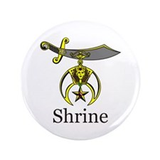 "Shrine 3.5"" Button"