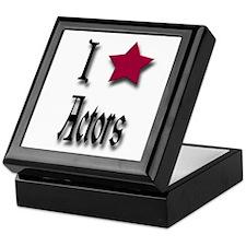 Love Actors Keepsake Box