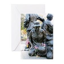 Vietnam War Memorial Greeting Cards (Pk of 10)