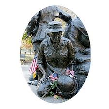 Vietnam War Memorial Keepsake (Oval)