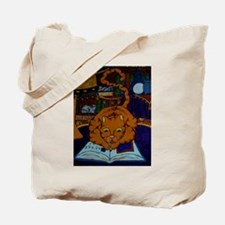 The Wizard's Cat Tote Bag