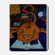 The Wizard's Cat Mousepad