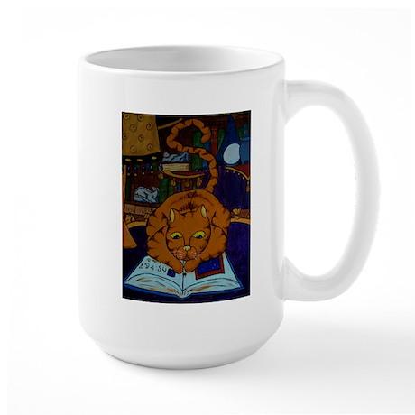 The Wizard's Cat Large Mug