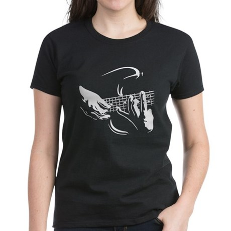 Guitar Hands Women's Dark T-Shirt