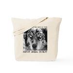 Report Animal Cruelty Dog Tote Bag
