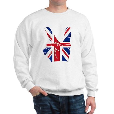 UK Victory Peace Sign Sweatshirt