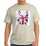 UK Victory Peace Sign Light T-Shirt