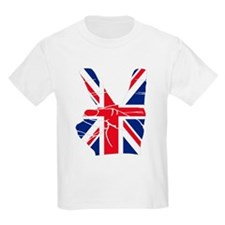 UK Victory Peace Sign T-Shirt