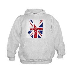 UK Victory Peace Sign Hoodie