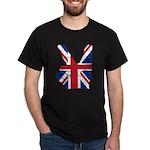 UK Victory Peace Sign Dark T-Shirt