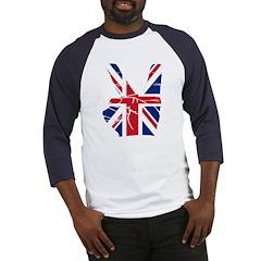 UK Victory Peace Sign Baseball Jersey