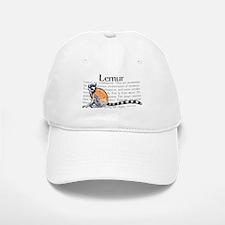 Lemur Baseball Baseball Cap