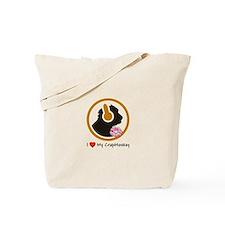 I Love My CrapMonkey Tote Bag