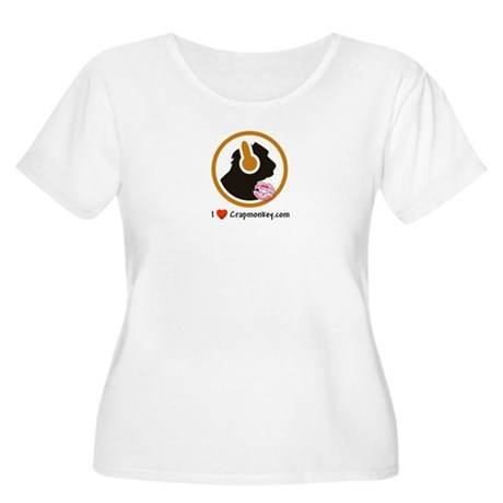 New Section Women's Plus Size Scoop Neck T-Shirt