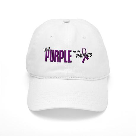 I Wear Purple For My Patients 10 Cap