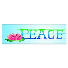 Lotus Blossom Bumper Sticker