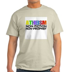 Atheism nonfiction nonprophet Ash Grey T-Shirt