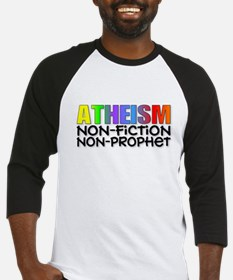 Atheism nonfiction nonprophet Baseball Jersey