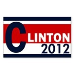 Clinton 2012 Bumper Sticker